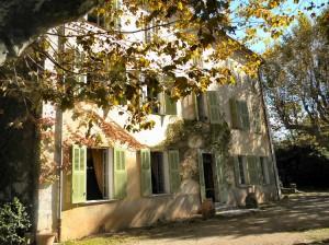 Facaçade Château Aups à Vendre